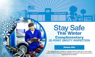 Complimentary 25-Point Safety Inspection