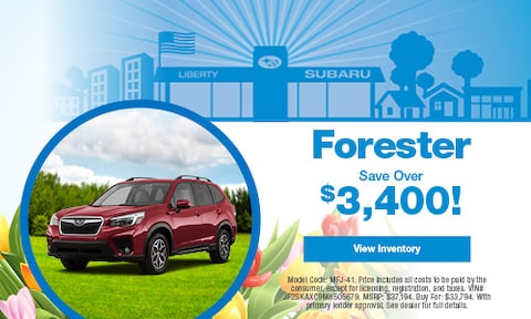 Forester Save Over
