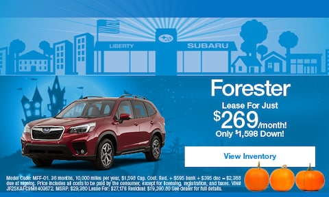 Subaru Forester Lease