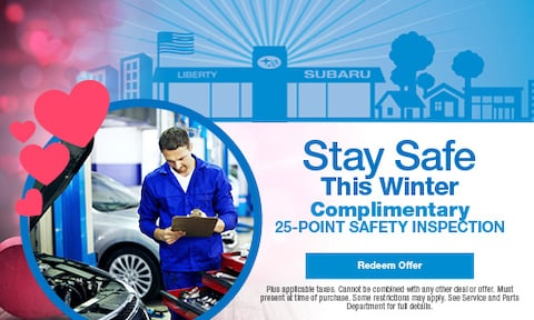 Stay Safe This Winter: Complimentary 25-Point Safety Inspection