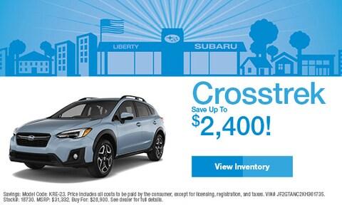 2019 Subaru Crosstrek Savings