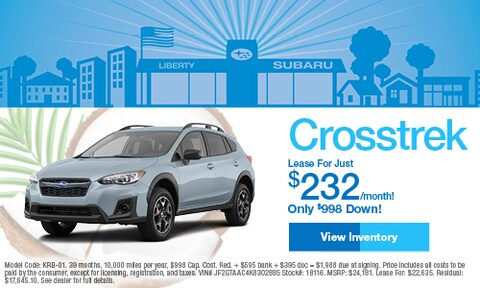 2019 Subaru Crosstrek Lease