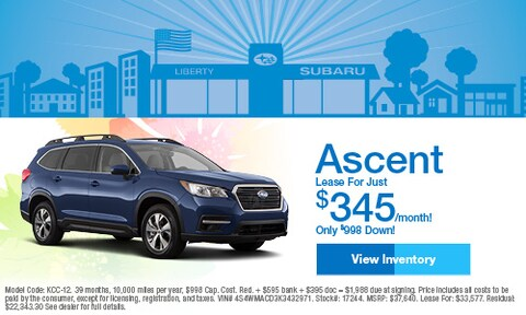 April 2019 Subaru Ascent