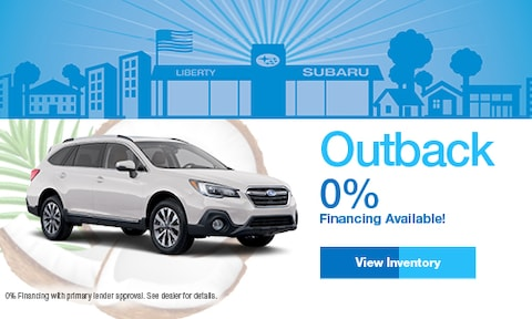 2019 Subaru Outback Finance