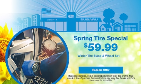 Spring Tire Special