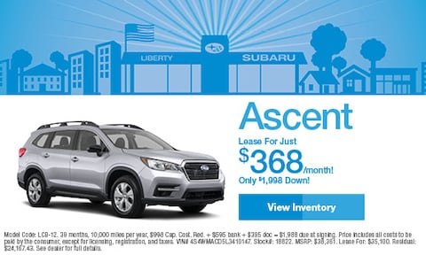 2020 Subaru Ascent Lease