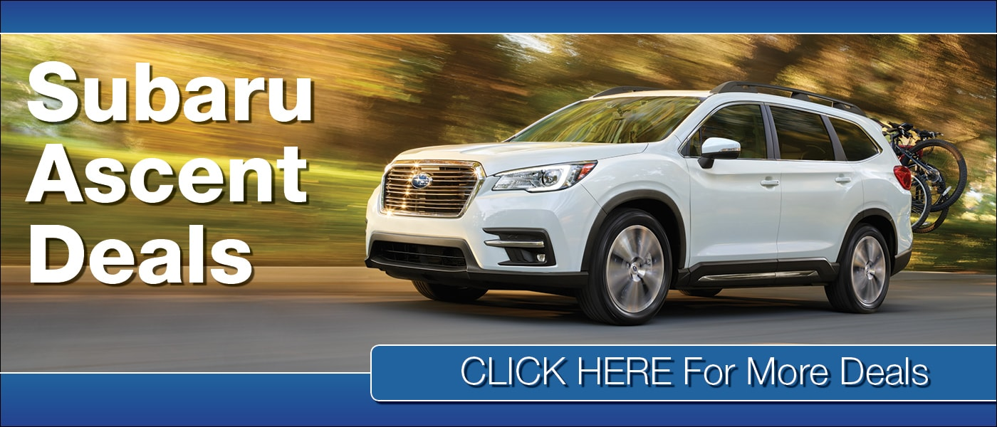 2020 Subaru Ascent Deals banner