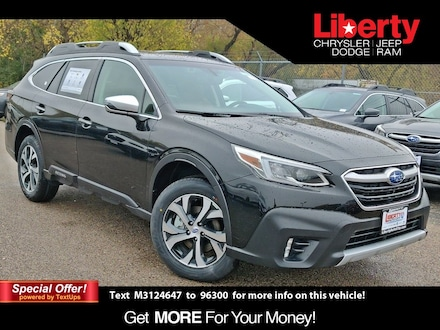 Featured New 2021 Subaru Outback Touring SUV for Sale in Libertyville, IL