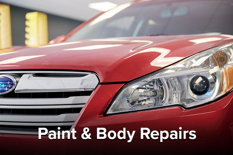 Liberty Subaru Paint and Body Repair