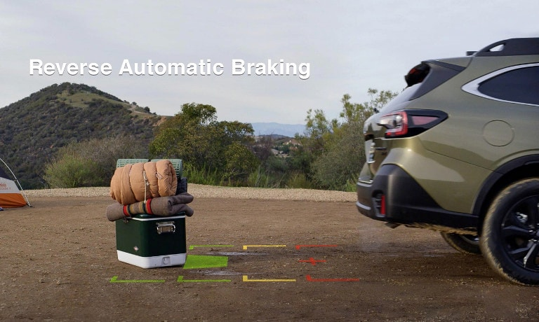 2020 Subaru Outback safety