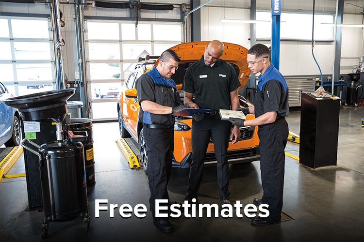 Liberty Subaru Free Service Estimates