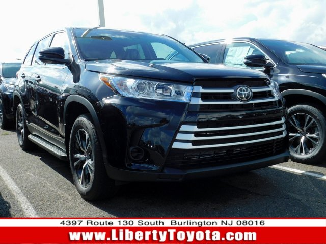 Demo Toyota vehicles 2019 Toyota Highlander LE SUV for sale near you in Burlington, NJ