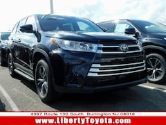 New Toyota vehicle 2019 Toyota Highlander LE SUV for sale near you in Burlington, NJ