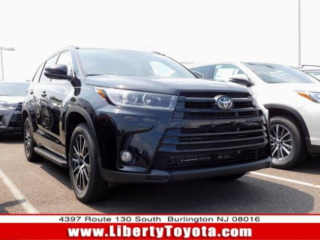 New Toyota vehicle 2018 Toyota Highlander SE SUV for sale near you in Burlington, NJ