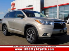 Used vehicles 2016 Toyota Highlander XLE V6 SUV P16487 for sale near you in Burlington, NJ