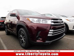New Toyota vehicle 2019 Toyota Highlander LE SUV for sale near you in Burlington, NJ