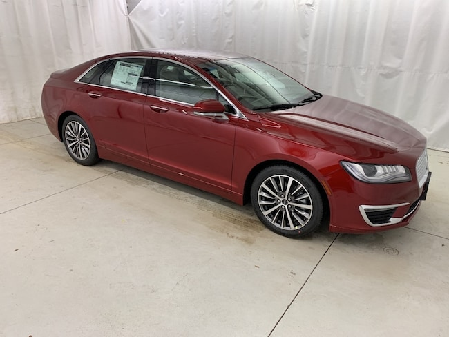2019 Lincoln MKZ Remote Start, Heated Leather Seats, Sync Sedan Vermilion