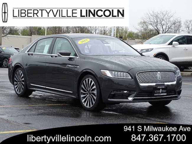 2019 Lincoln Continental Redesign, Changes, Black Label, And Photos >> New 2019 Lincoln Continental For Sale At Libertyville Lincoln Sales
