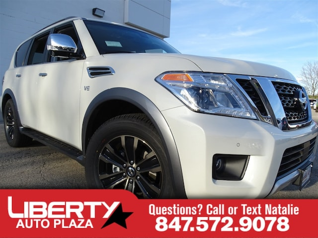 New 2017 Nissan Armada For Sale at Libertyville Nissan   VIN