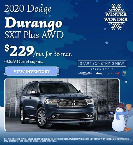 2020 - Durango - January