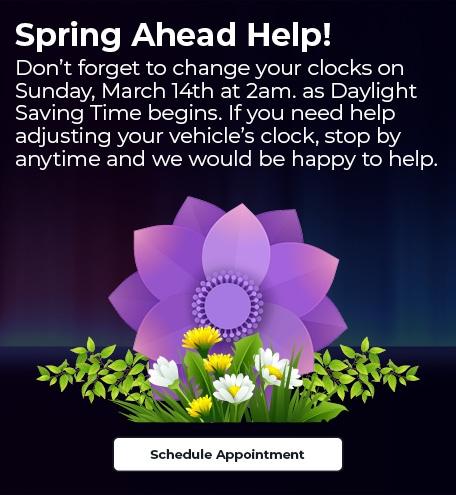 Spring Ahead Help