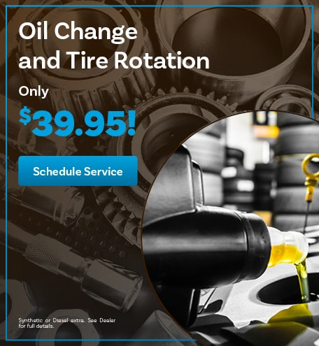 Oil Change and Tire Rotaion Special