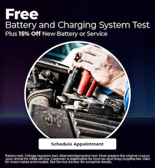 Free Battery and Charging System Test