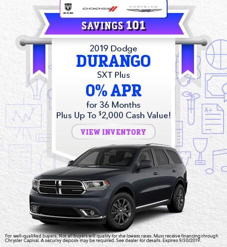 2019 - Durango - September
