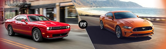 Compare the Dodge Challenger vs the Ford Mustang | Liccardi