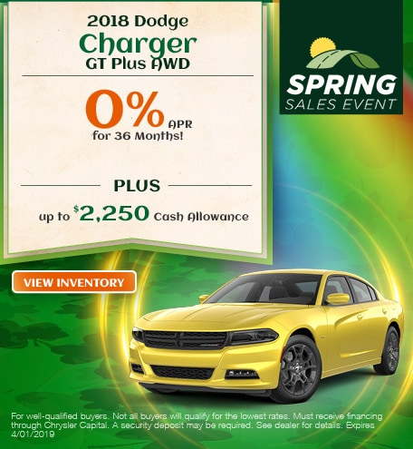 18 Charger March