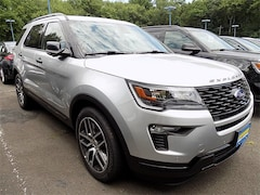 New 2018 Ford Explorer Sport AWD SUV 1FM5K8GT6JGC11061 for sale in Watchung, NJ at Liccardi Ford