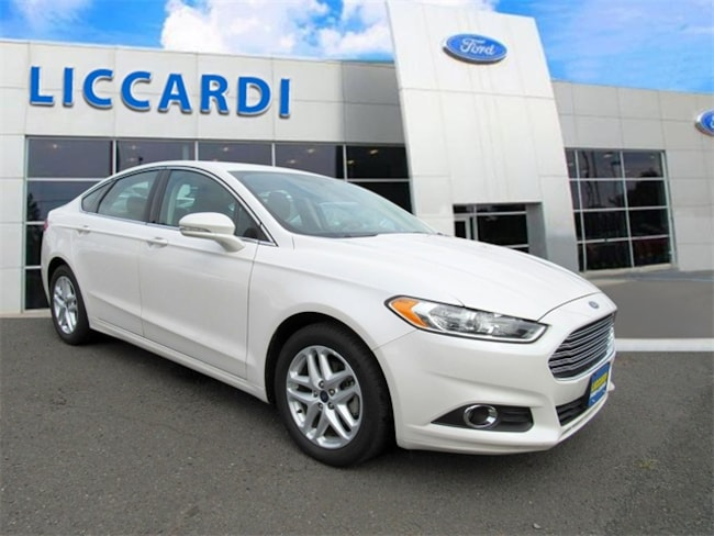 2016 Ford Fusion SE Sedan for sale in Watchung, NJ at Liccardi Ford