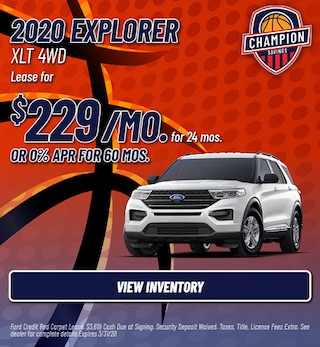 2020 Explorer XLT 4WD