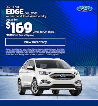 2020 Ford Edge SEL AWD w/ Leather & Cold Weather Pkg.