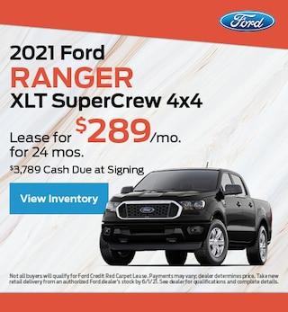2021 Ford Ranger XLT SuperCrew 4x4
