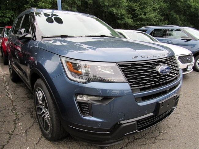 2018 Ford Explorer Sport AWD SUV for sale in Watchung, NJ at Liccardi Ford