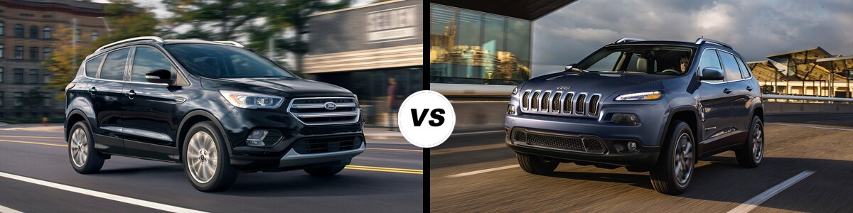 Compare The Ford Escape Vs Jeep Cherokeeat Liccardi Ford