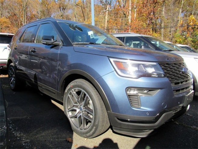 2019 Ford Explorer Sport AWD SUV for sale in Watchung, NJ at Liccardi Ford