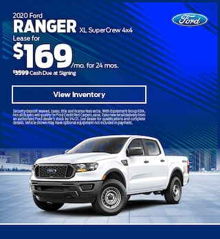 2020 Ford Ranger XL SuperCrew 4x4