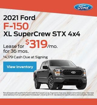 2021 Ford F-150 XL SuperCrew STX 4x4