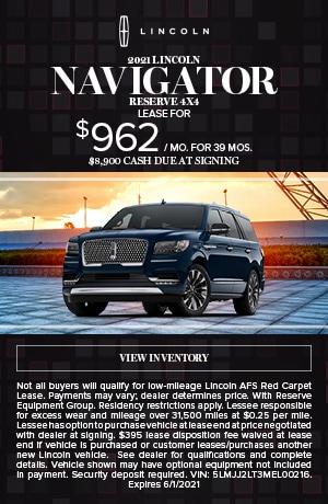 2021 Lincoln Navigator Reserve 4X4