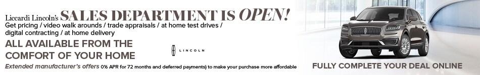 Sales Open