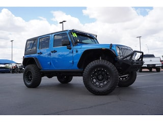 Used Lifted 2014 Jeep Wrangler Unlimited Sport 4x4 SUV for sale in Phoenix, AZ