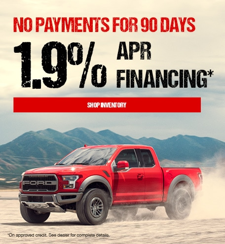 Deferred Payments Special Offer