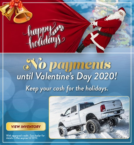 No payments until Valentine's Day 2020