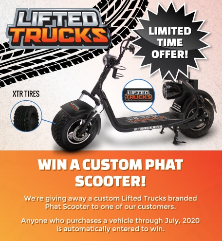 Custom Phat Scooter Giveaway
