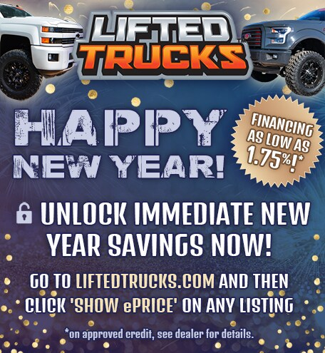 Happy New Year from Lifted Trucks