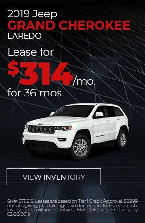 2019 Jeep Grand Cherokee Feb