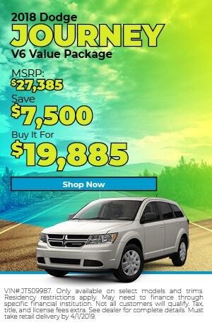 2018 Dodge Journey MAR