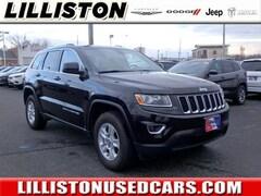 Used 2015 Jeep Grand Cherokee Laredo 4x4 SUV for sale in Millville, NJ